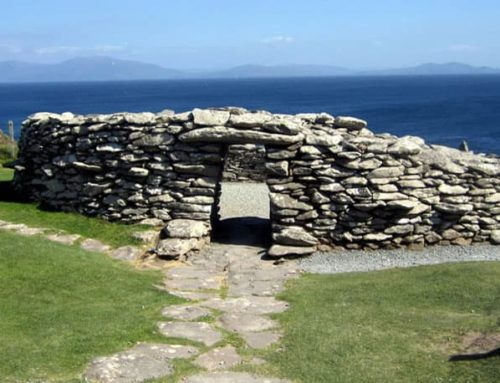 Historic Dún Beag Fort Slips into the Sea